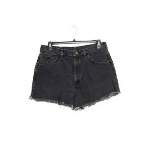 Wrangler   black cut-off denim shorts sz 36